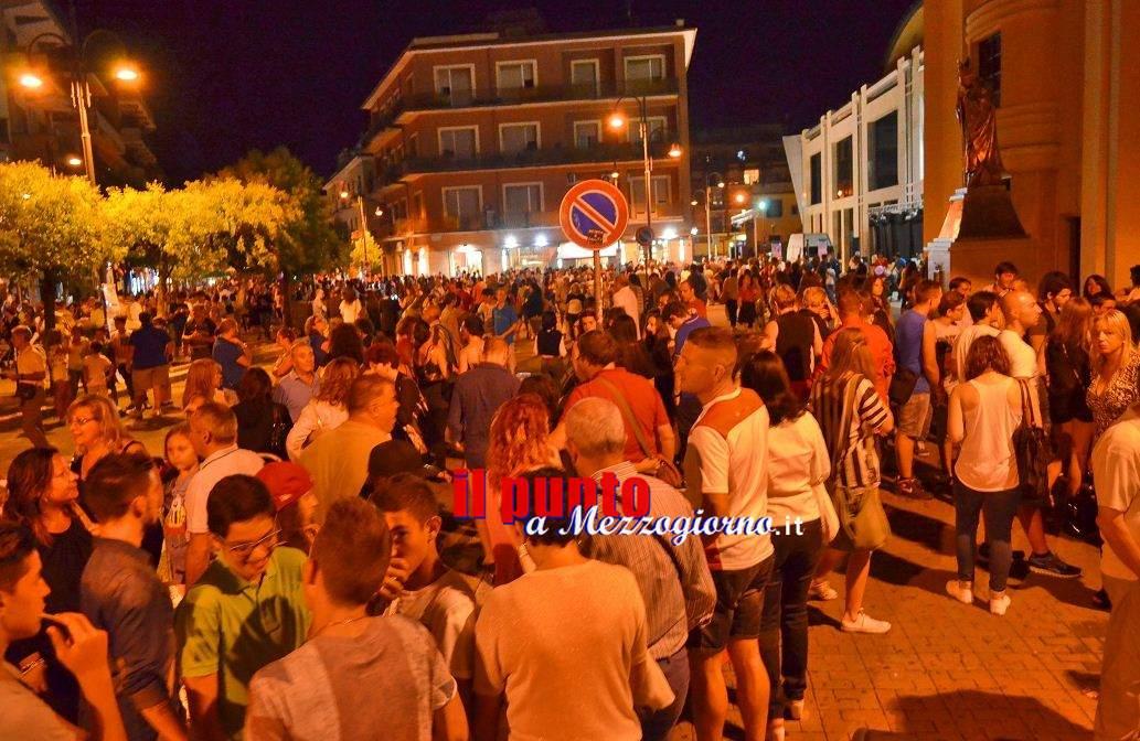 In 40mila alla Notte Bianca della Cultura di Cassino, la soddisfazione del sindaco