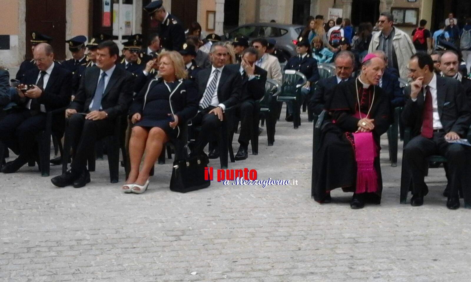 La polizia festeggia ad Arpino il suo patrono San Michele Arcangelo