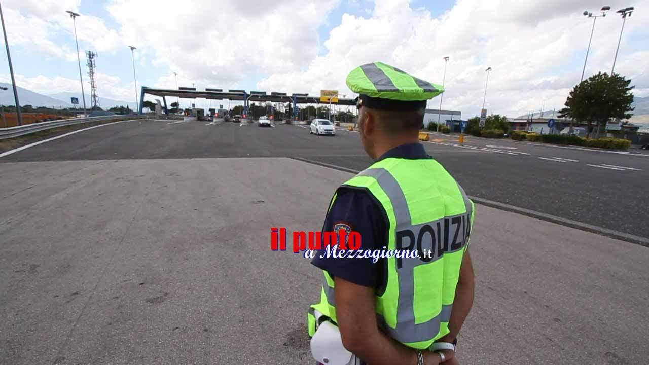 Cinghiale a spasso sull'Autostrada a Roccasecca travolto e ucciso. Tre auto danneggiate