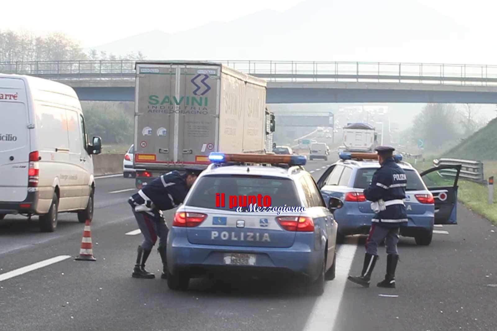 Salva aspirante suicida a Posta Fibreno, poliziotto fuori servizio rimane ferito