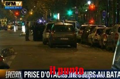Parigi sotto attacco terroristico, tre attacchi a colpi di Kalashnikov e granate