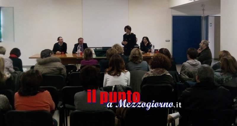 """""""I diversi volti del bullismo"""" raccontati nel convegno organizzato dalla polizia al Bragaglia di Frosinone"""