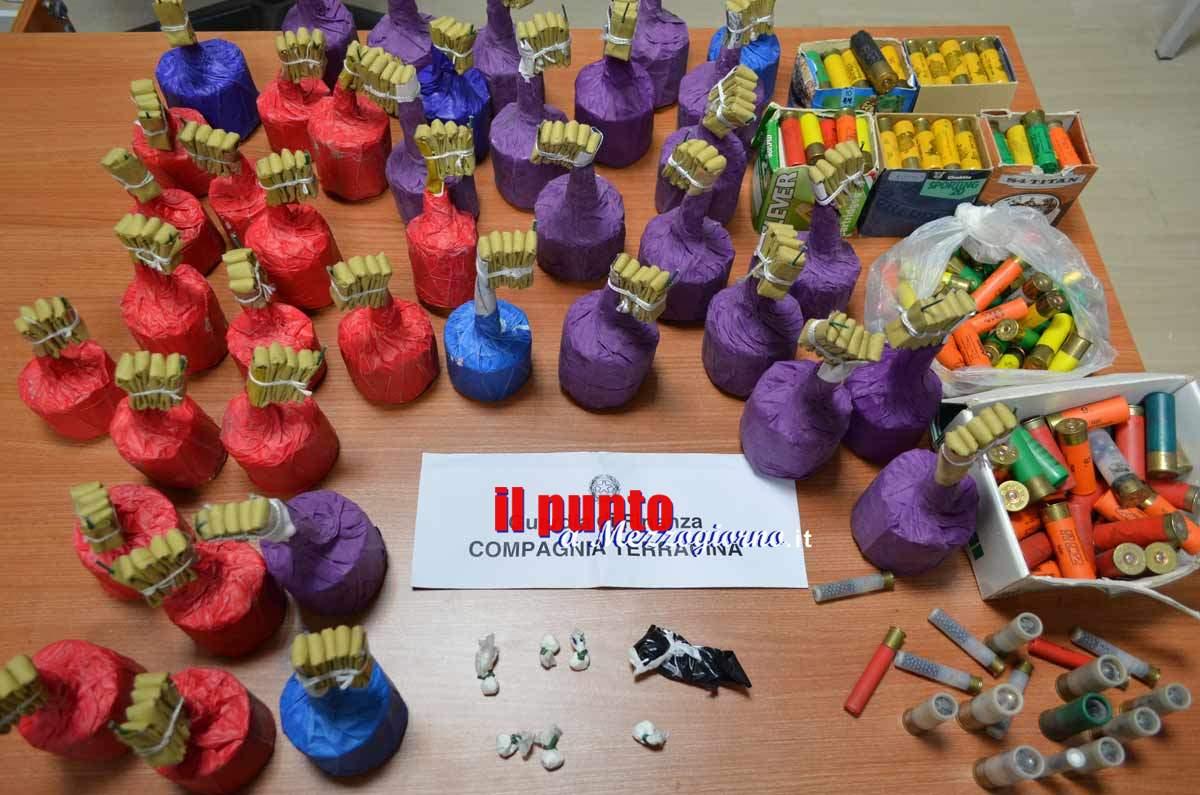 Botti illegali, arrestato un 50enne a San Felice Circeo