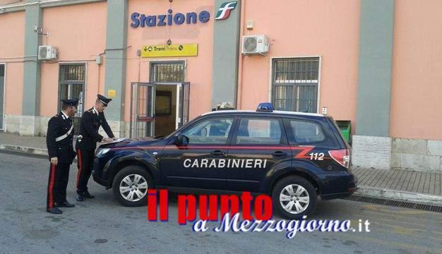 Zaino sospetto nel sottopasso, allarme attentato terroristico in stazione a Sezze