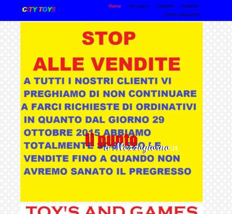 CityToys sospende le vendite truffa on line dal sito, ma i raggiri continuano su Ebay