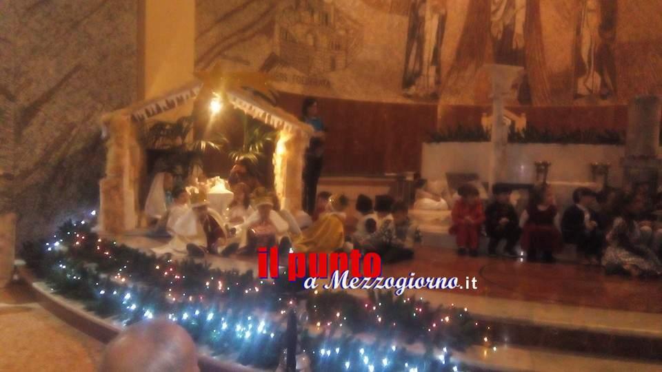 Aquino, recita natalizia dei bambini della scuola dell'infanzia San Tommaso