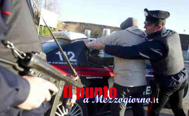 Due rapinatori di banche arrestate dai carabinieri, tentarono il colpo alla Carige di Pignataro