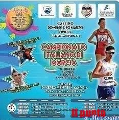 """Domenica 20 marzo a Cassino: la IX edizione dei """"Campionati Nazionali di Marcia"""""""