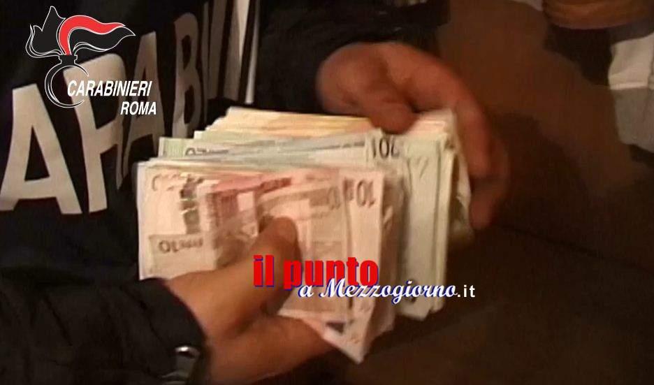 Rubano 47mila euro che un anziano custodiva in cantina a Cervaro, arrestata coppia