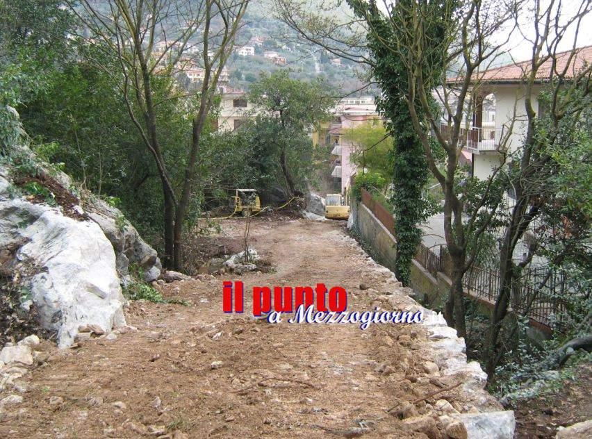 Strada abusiva sequestrata ad Itri dalla Forestale