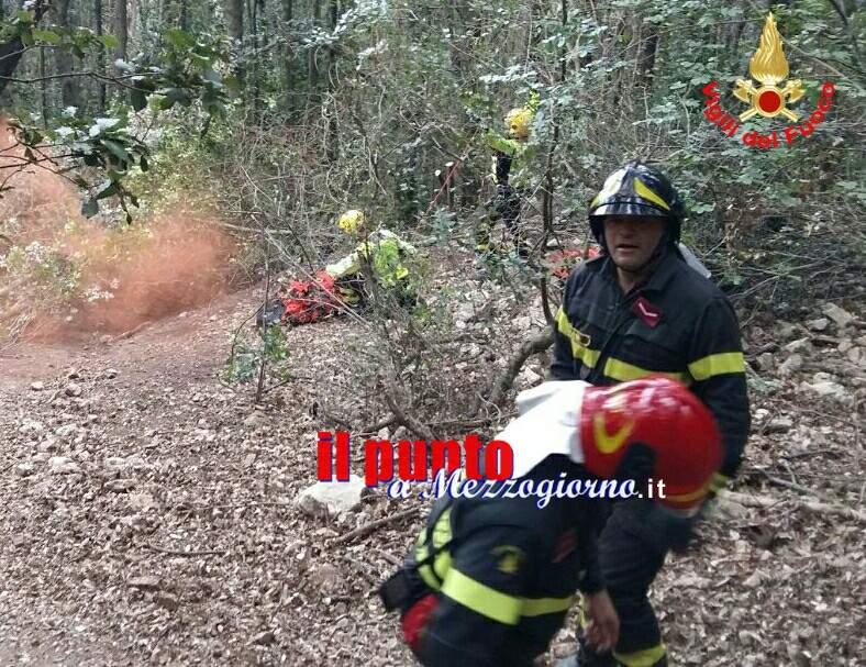 Escursionista ferita a San Felice Circeo, salvata dai vigili del fuoco