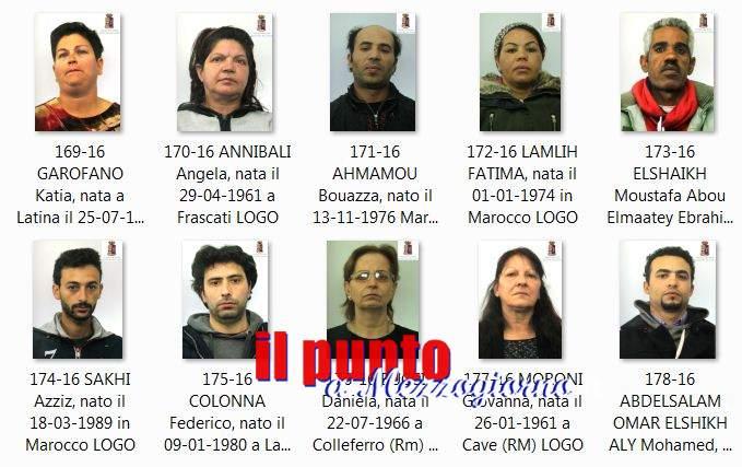 Immigrazione clandestina, Viaggio di Nozze in carcere per quattro