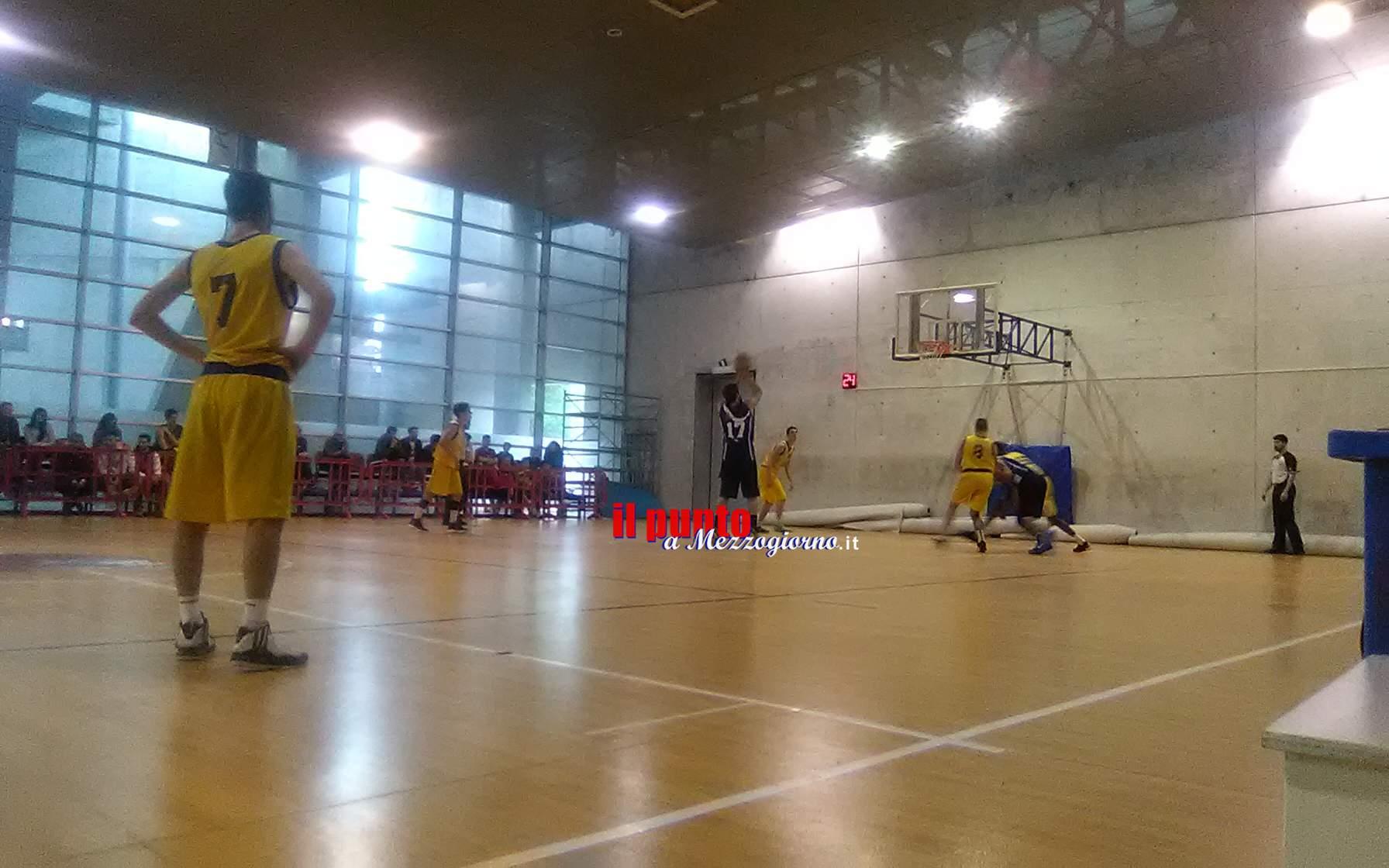 Basket C/Gold: NB Sora batte APDB Roma e guarda ai playoff