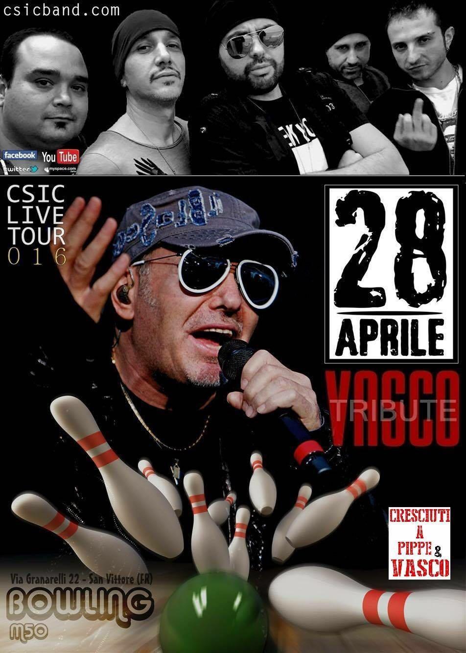 Domani sera la cover di Vasco Rossi in concerto a San Vittore del Lazio