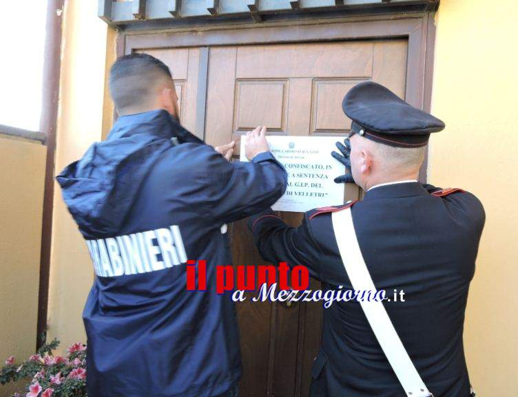 Sequestrato dai Carabinieri l'albergo Ganimede a Sperlonga