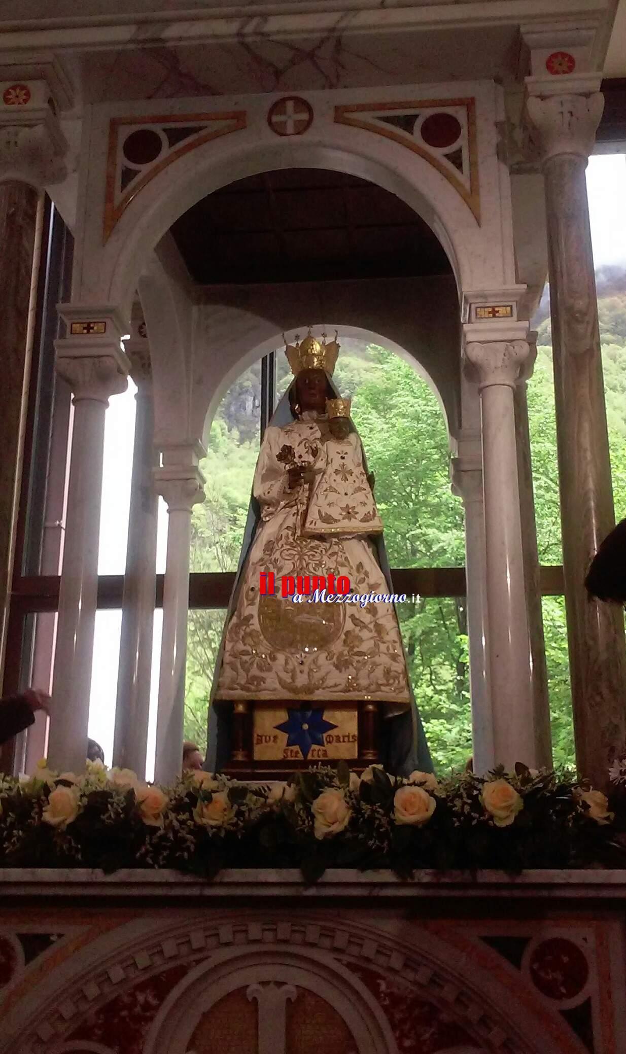 Primo maggio nella Basilica di Canneto.
