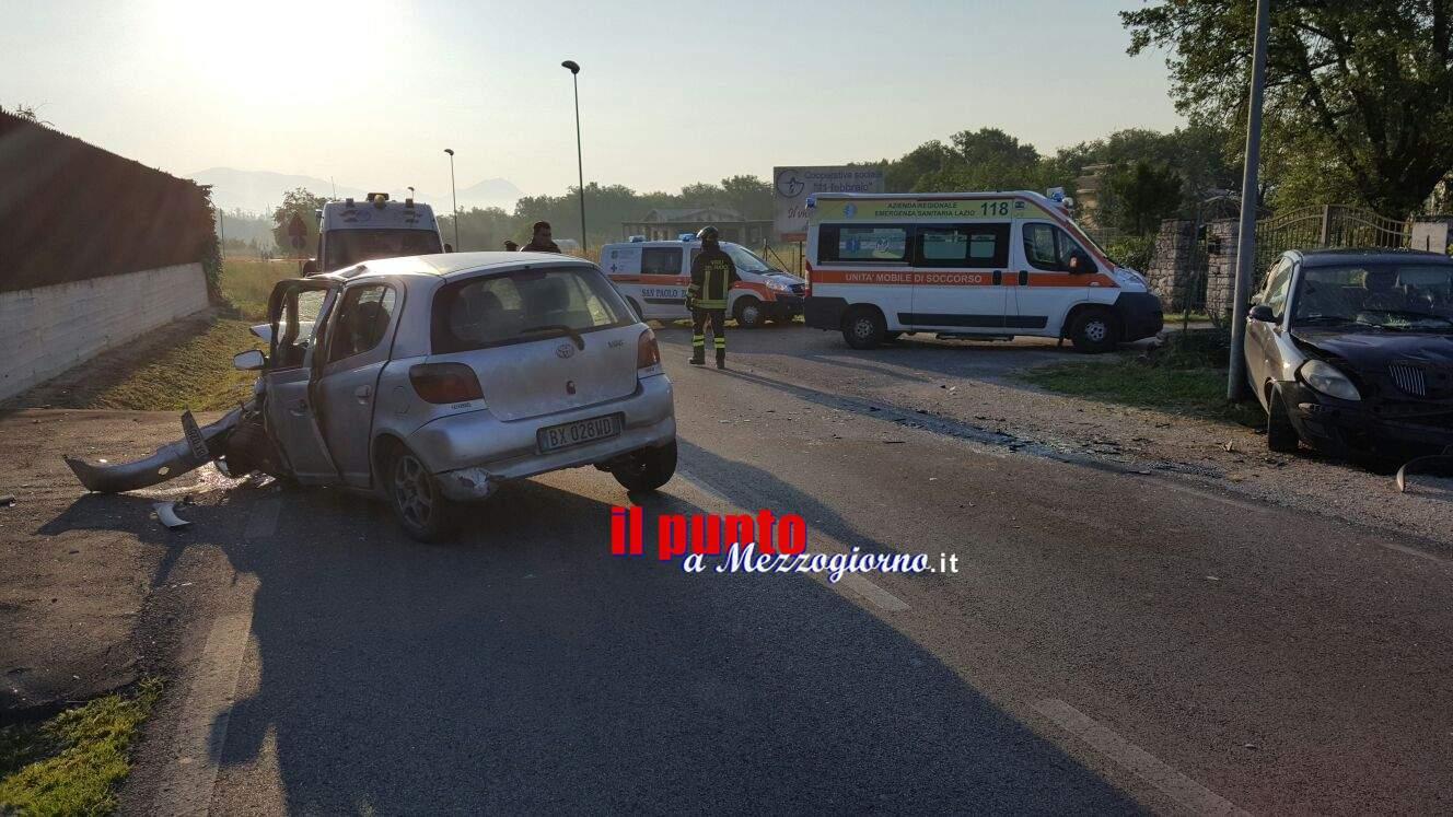 incidente stradale a Pontecorvo, una 30enne muore in schianto con sua amica