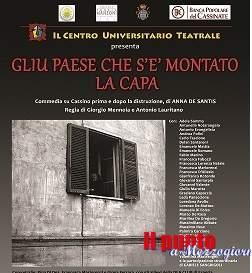 """""""Gliu paese che s'è montato la capa"""" in scena il 23 maggio al Teatro Manzoni"""