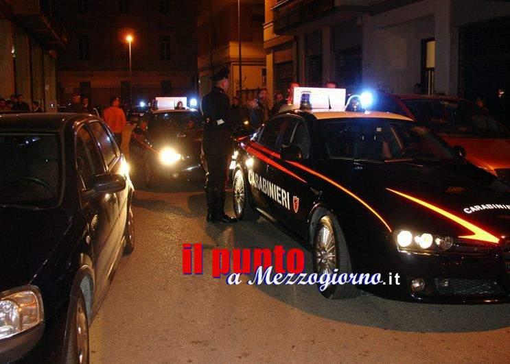"Servizio coordinato dei Carabinieri denominato ""Week-end sicuro"""