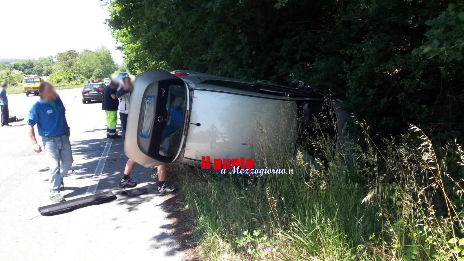Gravissimo incidente stradale sull'Anticolana a Piglio