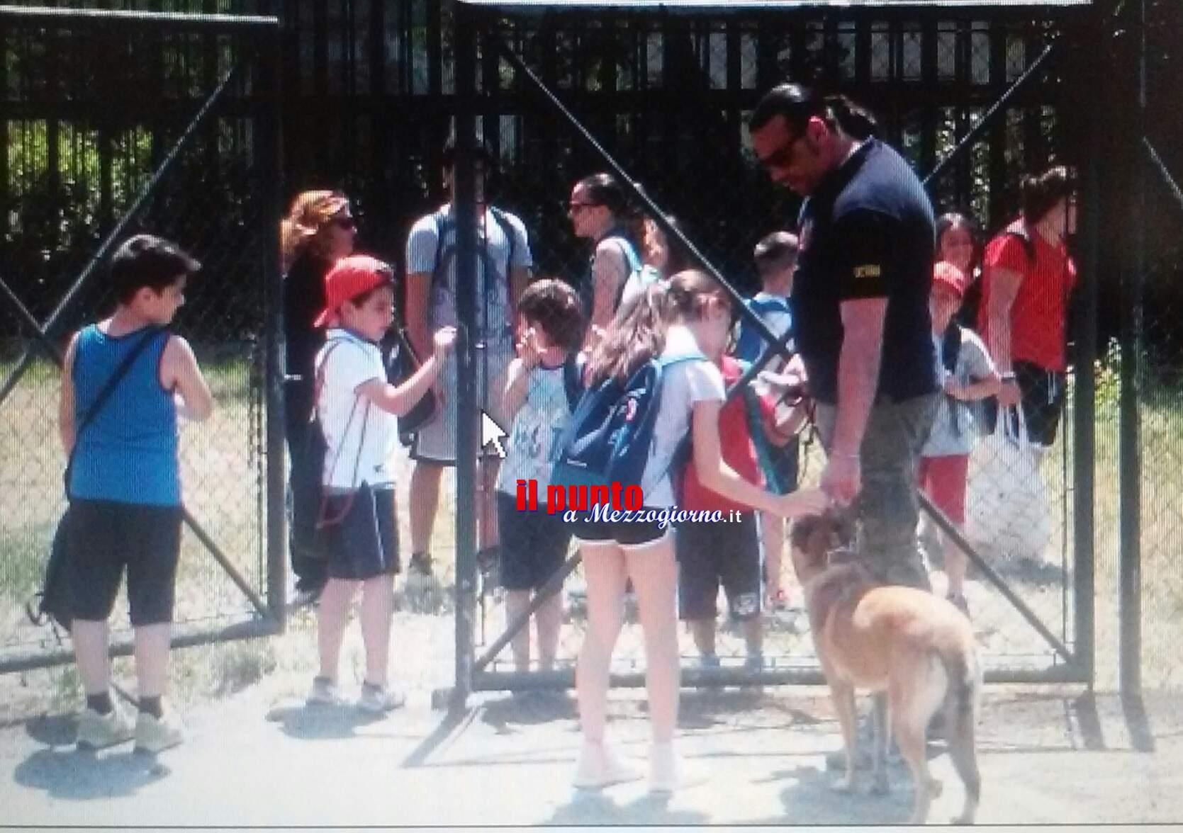 A scuola di Polizia. Campus estivo per i piccoli studenti