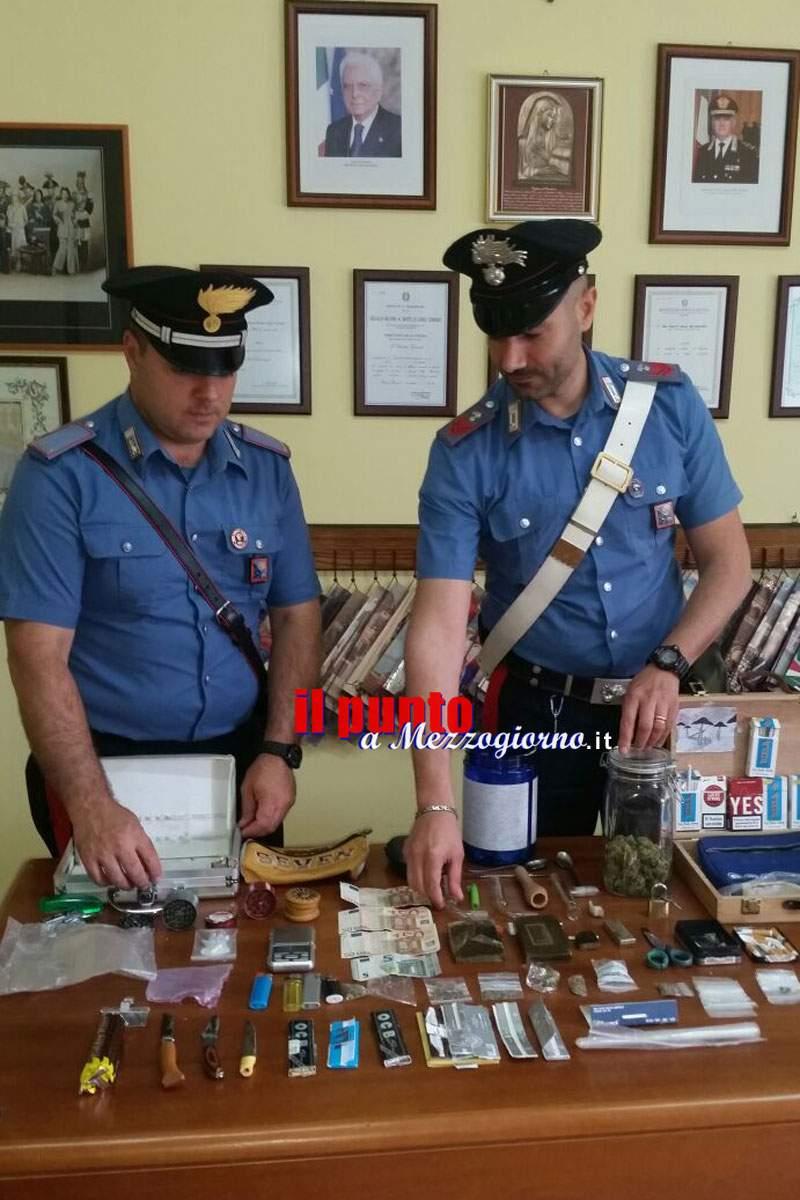 Due fratelli della valle di Comino trovati con la droga, arrestati dai carabinieri di Atina