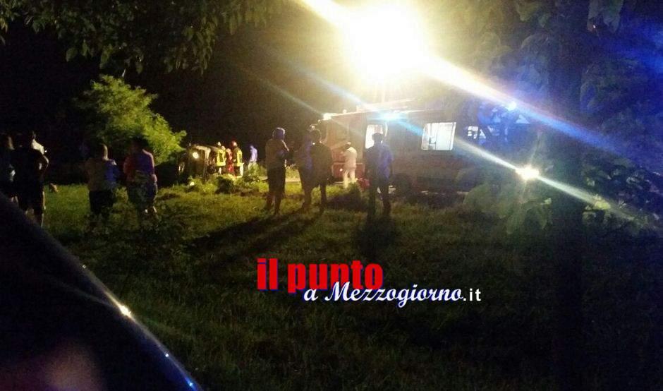 Incidente stradale a Pontecorvo, tre giovani feriti. Uno è grave