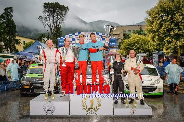 Il maltempo non frena Fabio Gianfico e Liberato Mongillo che dominano il 2° Rally del Basso Lazio