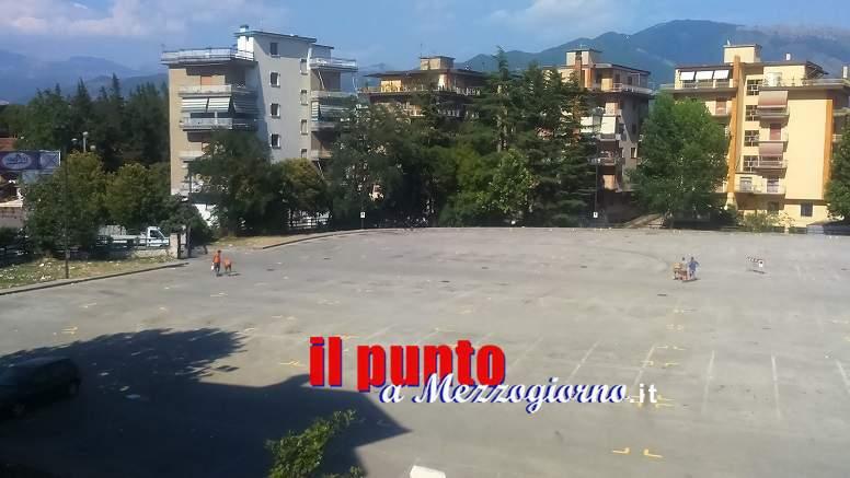 Parcheggio di campo Miranda chiuso alle auto per rifare i posti degli ambulanti del mercato