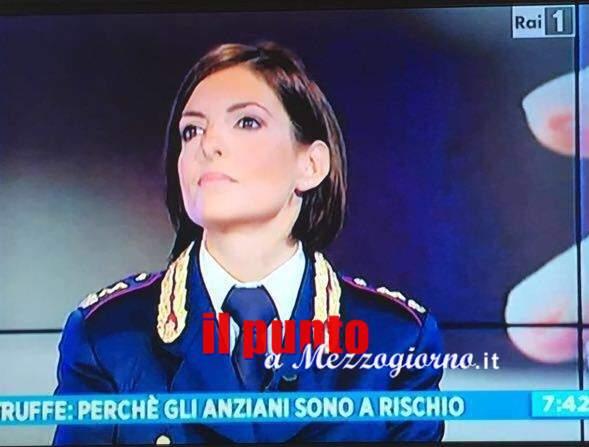 Il Portavoce della questura di Frosinone a Uno Mattina per illustrare le iniziative della Polizia