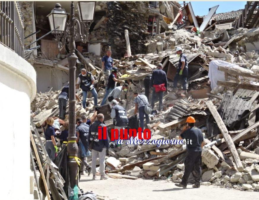 Terremoto – Sale a 291 il numero dei morti. Raccolti oltre 6 milioni di euro con il numero solidale