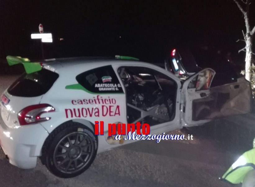 Grave incidente stradale al Rally di Pico, Bmw fuori gara travolge equipaggio