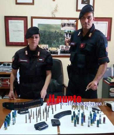 La passione per le armi costa caro ai Cassinati. Sette arresti nel 2016