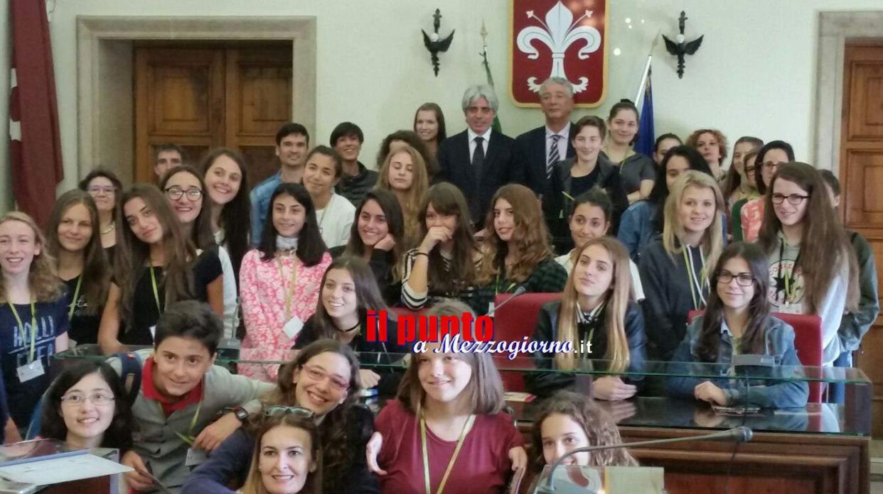 Studenti inglesi, spagnoli e austriaci a Ferentino per il progetto Erasmus