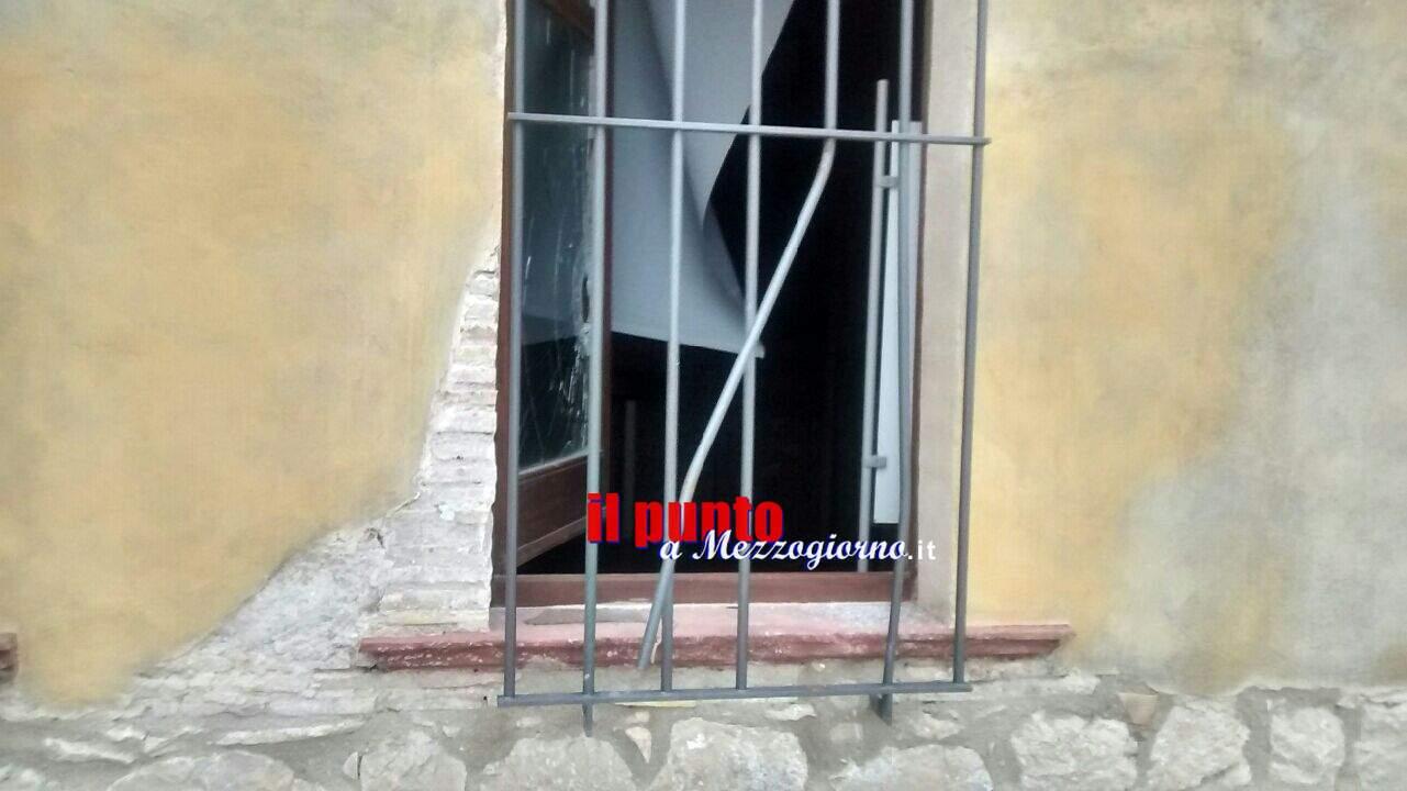 San Pietro Infine – Atto vandalico/furto nell'ex asilo del Parco della Memoria Storica