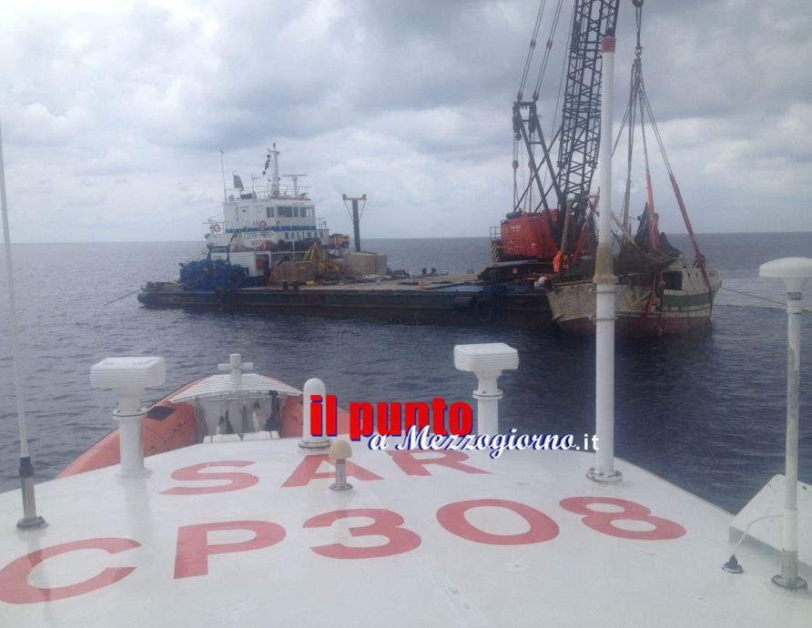 Affondamento Rosinella, esaminato il relitto, nessuna traccia del corpo del Capitano