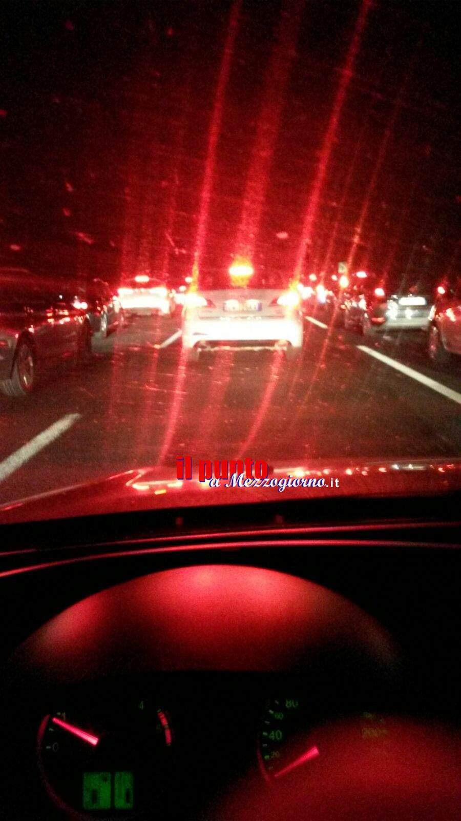 Traffico in A1-pesanti rallentamenti in direzione Roma a causa del rientro