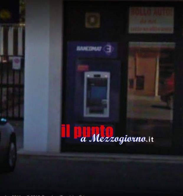 Bancomat sradicato a San Giorgio a Liri, malviventi fuggono con bottino