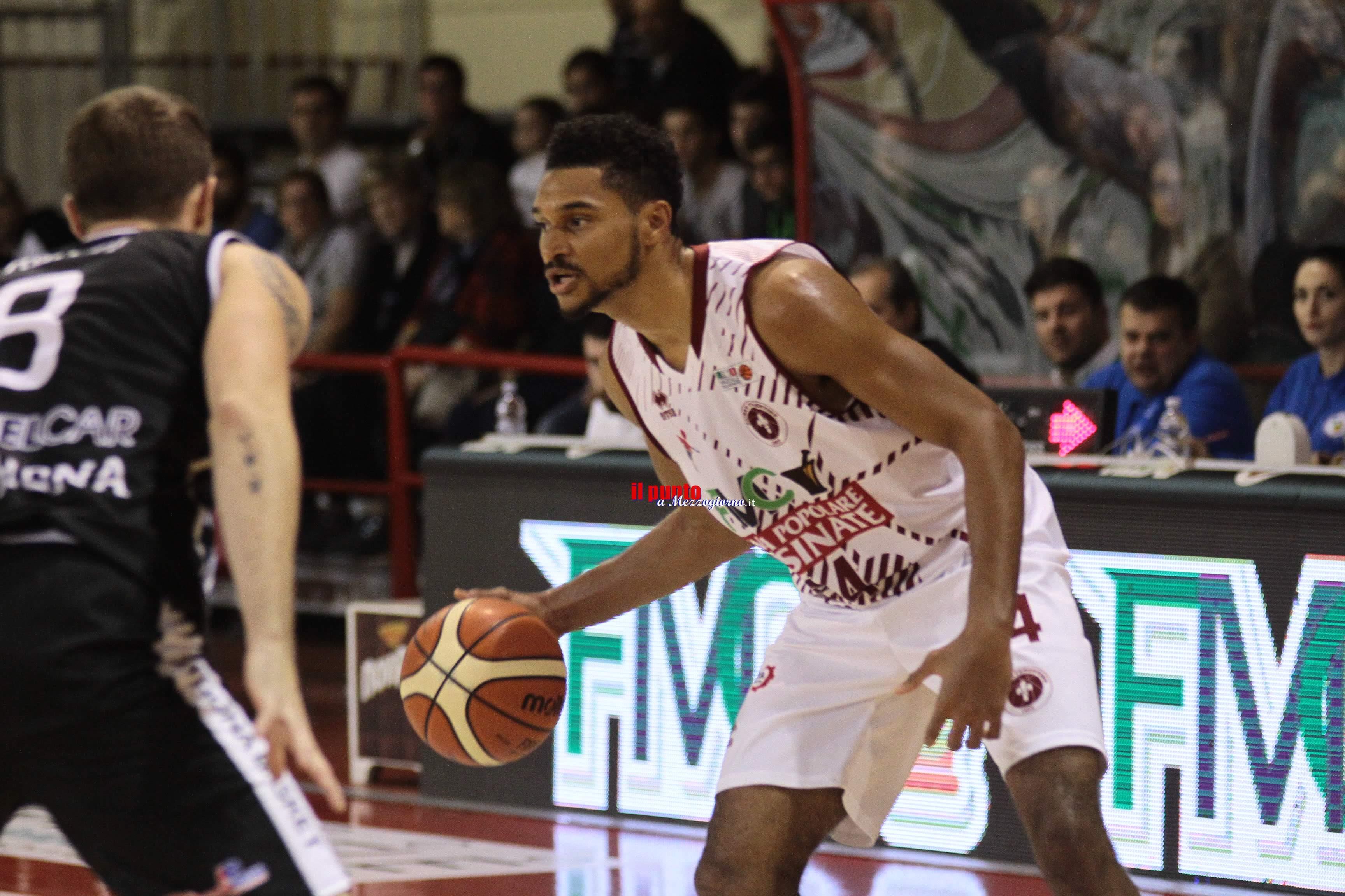 Basket: Ferentino primo stop casalingo, ma solo di misura 80-82, contro Orsi Tortona