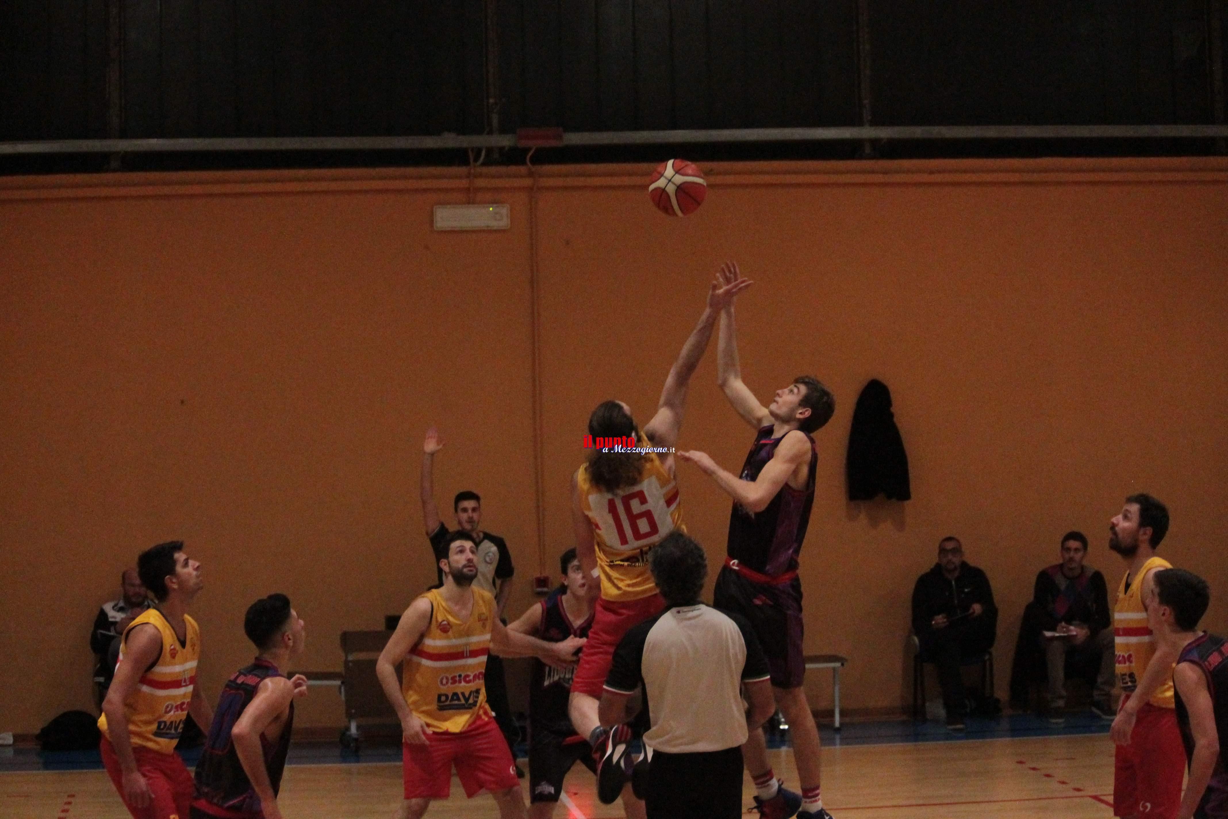 Basket serie D: Veroli torna sulla retta via,torna alla vittoria (64-61) contro la Virtus Pontinia