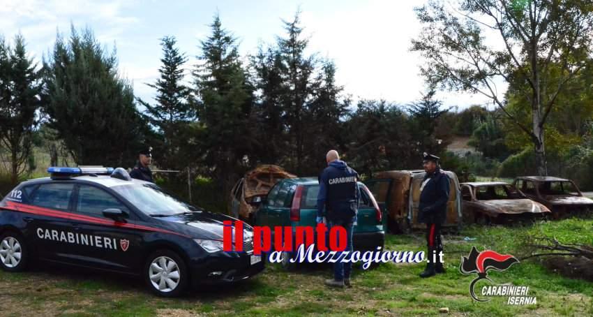Scoperti dai Carabinieri fabbricati abusivi nell'area dove venivano smaltiti rifiuti speciali, già sottoposta a sequestro
