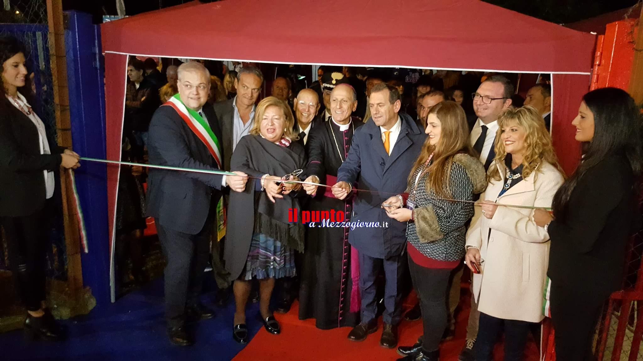 """Inaugurato il Palazzetto dello sport, una """"nuova casa"""" per la Virtus Cassino"""