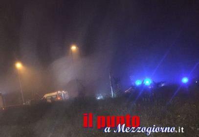 Incidente stradale alla rotatoria di Pignataro, ferita 25enne di Atina