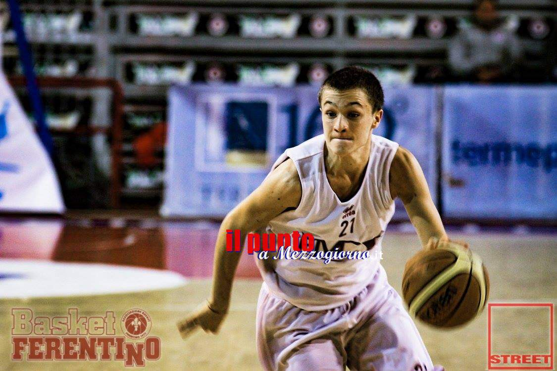 Basket Under 20: Ferentino, seconda vittoria consecutiva contro Sabaudia (79-67)