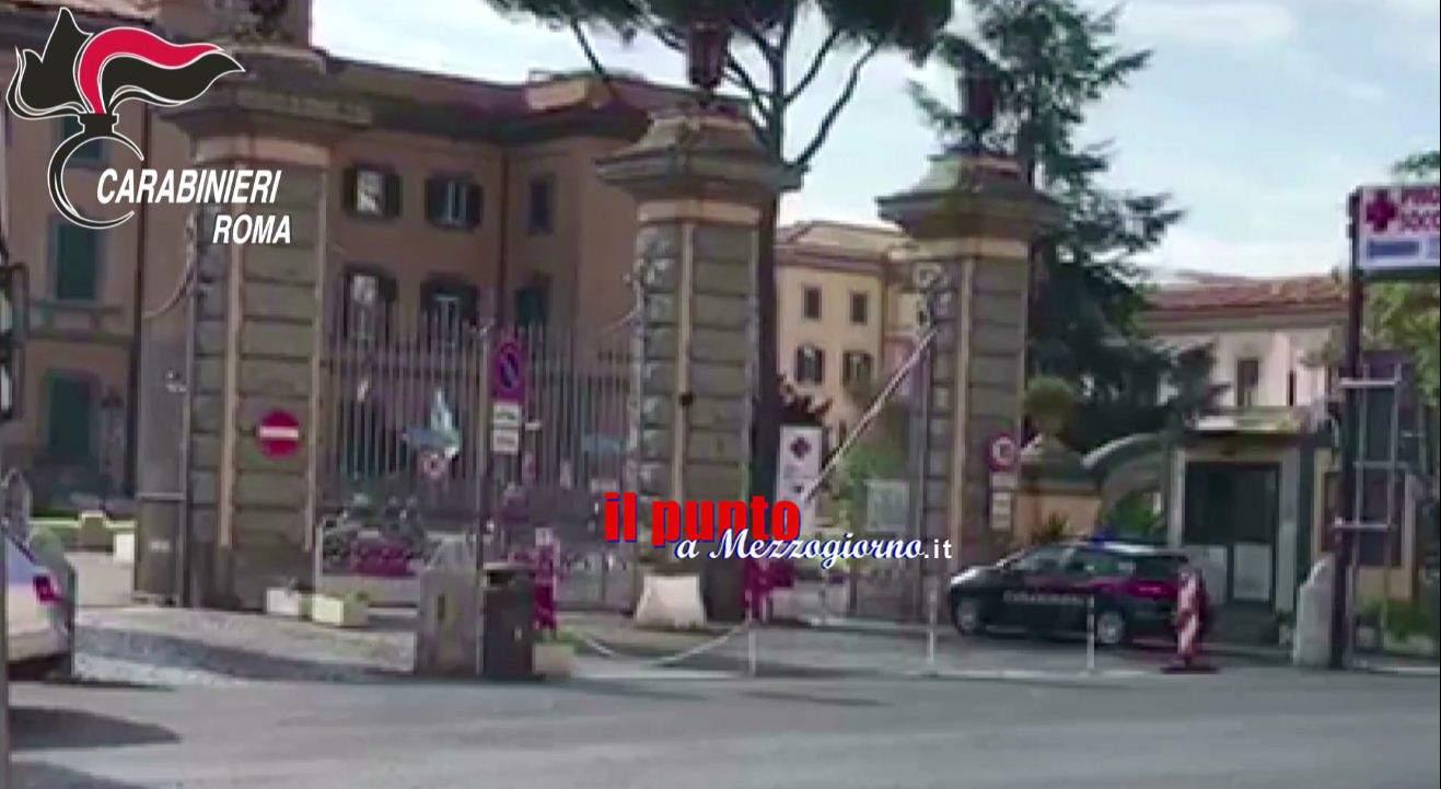 Corruzione, estorsione e truffa al San Camillo, dieci arresti tra Roma e Frosinone