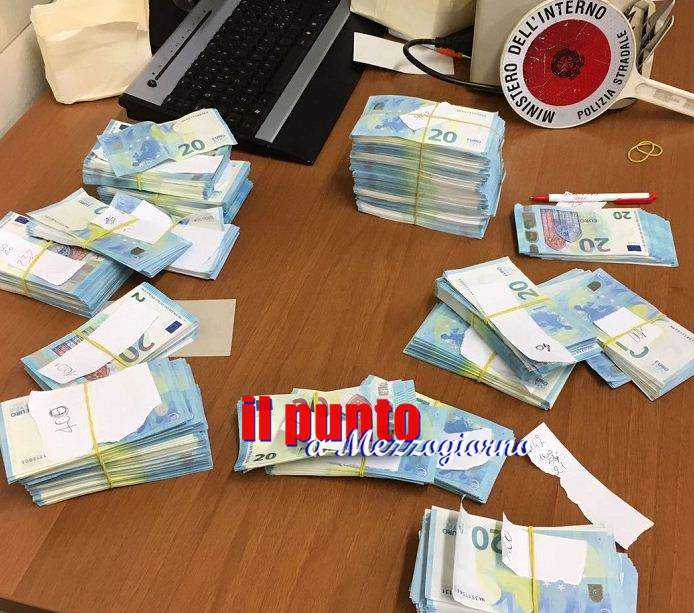 Soldi, 52mila euro in banconote false sequestrate nel Cassinate