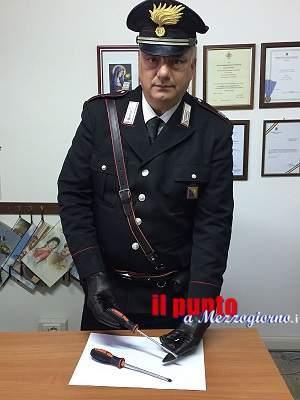 Arrestata dai Carabinieri una 23enne nomade con strumenti da scasso e colpita da mandato di cattura