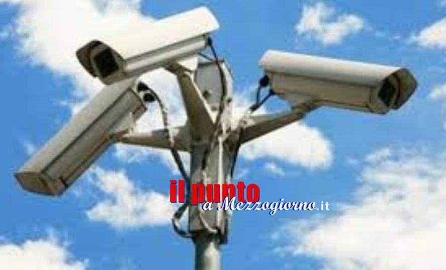 Altre 50 telecamere per sorvegliare strade e piazze di Frosinone, adesso sono 280