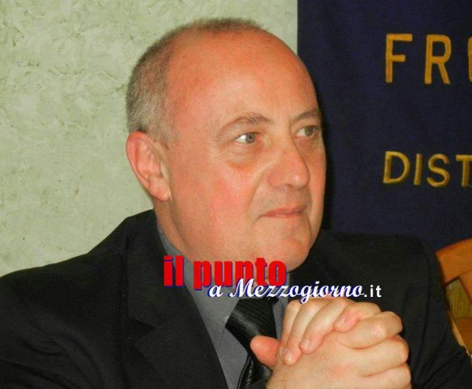 Il maestro Maurizio Turriziani al Rotary club Frosinone.