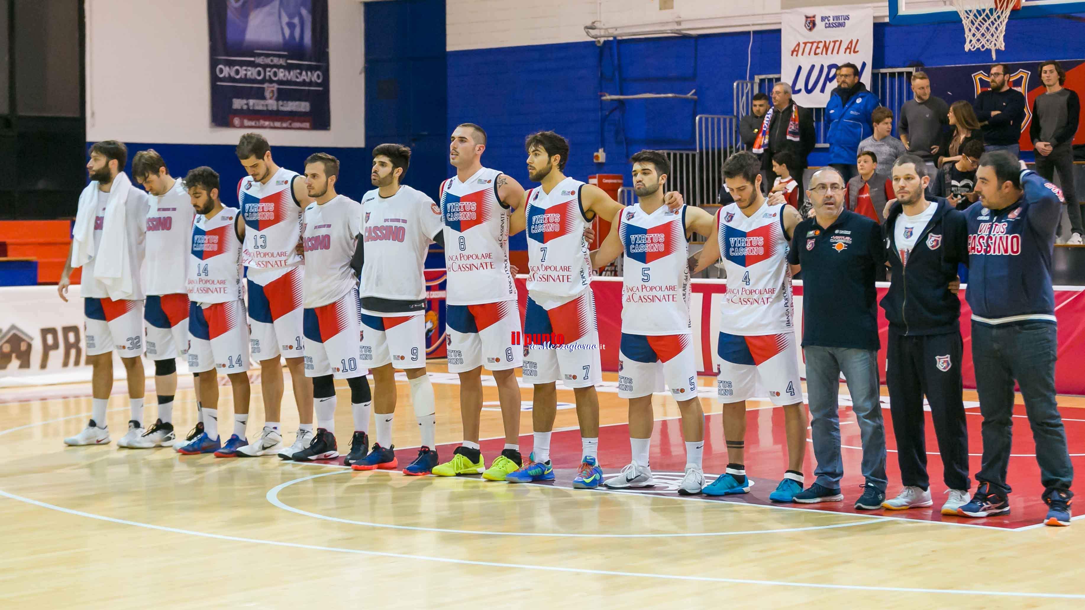 """Basket: La """"prima"""" a Cassino in questa stagione per la Virtus Cassino"""